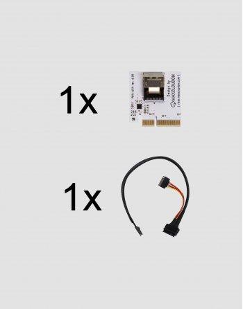 Riser U.2 NVMe SSD X4 (set) - PRE-ORDER