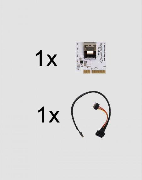 Riser U.2 NVMe SSD X4